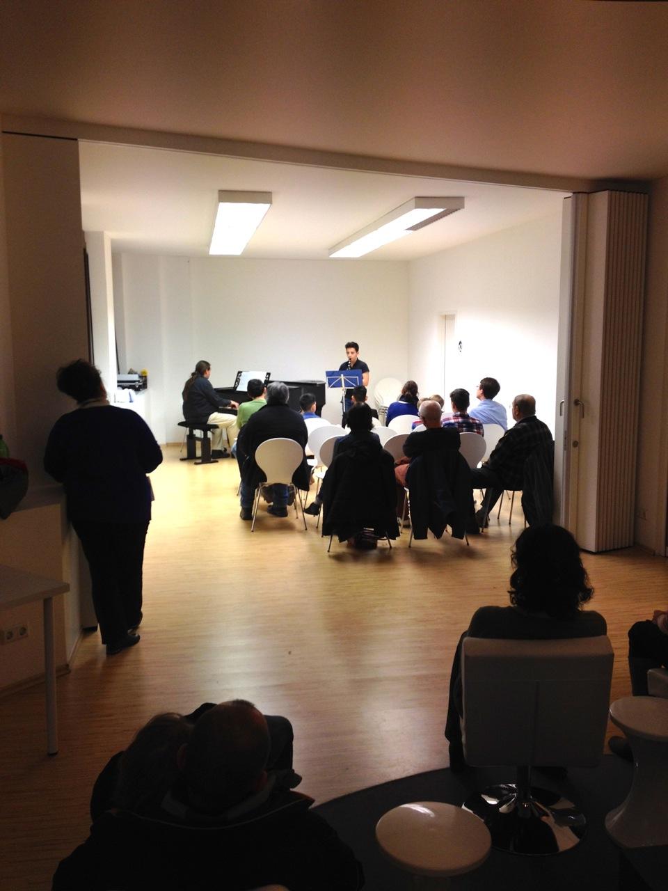 Konzert TonARTe Musikschule am 25.2.2015